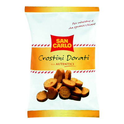 SAN CARLO CROSTINI GR.75 DORATI