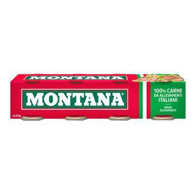 MONTANA CARNE LESSATA GR.90X4