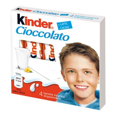 KINDER BARRETTE X 4
