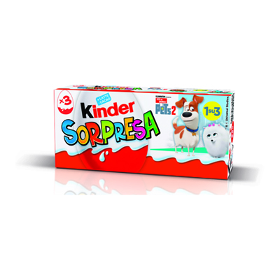 KINDER SORPRESA T3