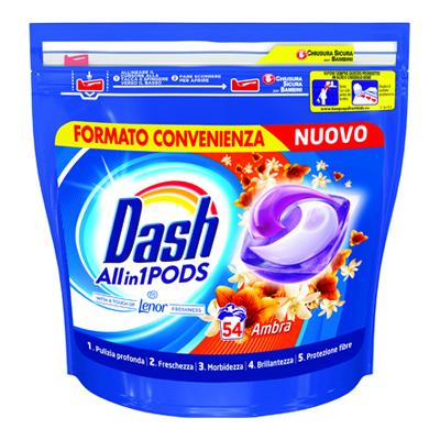 DASH PODS X 54 AMBRA TUTTO IN1