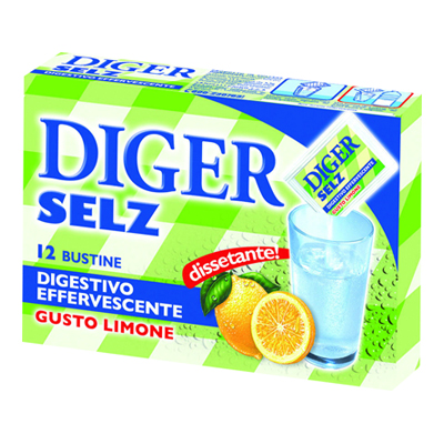 DIGER SELZ 12 BUSTE LIMONE