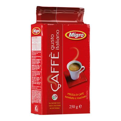 MIGRO CAFFE GR.250 GUSTO ITALIANO