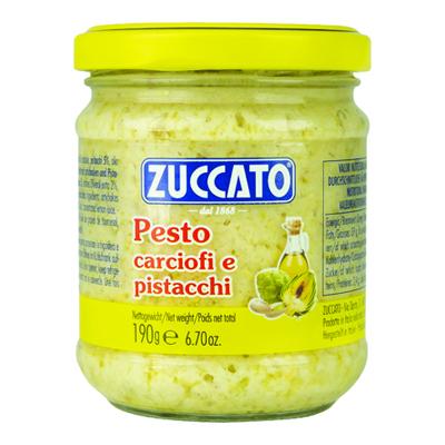 ZUCCATO PESTO CARCIOFI E PISTACCHIO GR.190