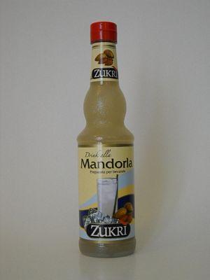 ZUKRI SCIROPPO LATTE MANDORLACL.50
