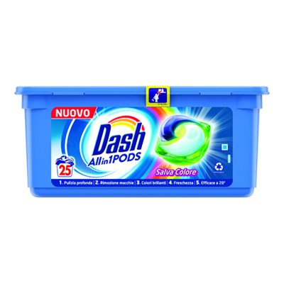 DASH PODS X 25 COLORE TUTTO IN1