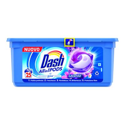 DASH PODS X 25 LAVANDA TUTTO IN1