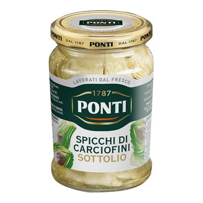 PONTI CARCIOFI TAGLIATI GR.280