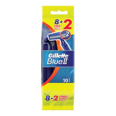 GILLETTE RASOIO BLU II USA E GETTA X8+2