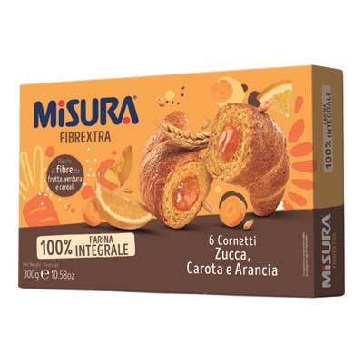 MISURA CORNETTO FIBRE EXTRA ARANCIONE GR.300