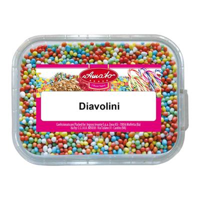 AMATO CONFETTI DIAVOLINI GR.60VASCHETTA
