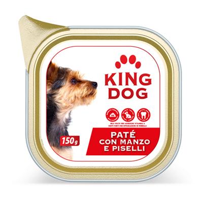 KING DOG PATE' MANZO&PISELLI VASCHETTA GR.150