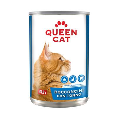 QUEEN CAT BOCCONCINI TONNO LATTINA GR.415