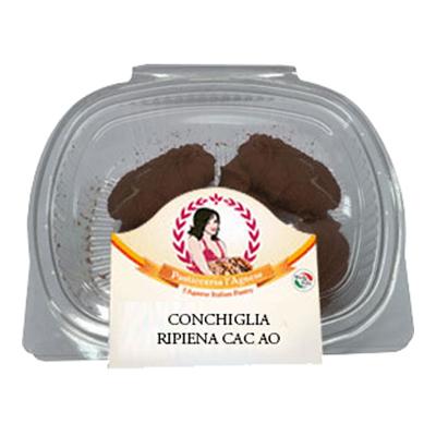 L'AGNESE CONCHIGLIA RIPIENA CON CREMA CACAO GR.150