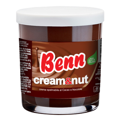 BENN CREAM&NUT CREMA CACAO E NOCCIOLE GR.200
