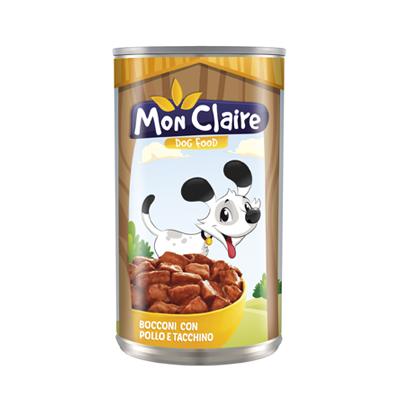 MON CLAIRE CANE BOCCONI POLLO/TACCHINO KG.1,25