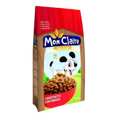 MON CLAIRE CANE CROCCHETTE MANZO KG.10