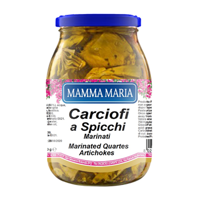 MAMMA MARIA ML.1062 CARCIOFI SPICCHI MARINATI
