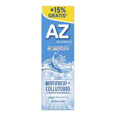 AZ DENTIFRICIO ML.65+10 COMPLETE+COLLUTORIO FRESH