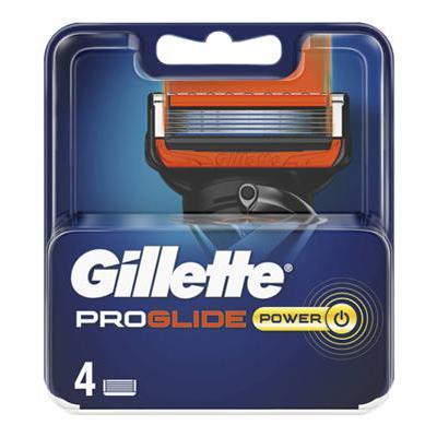 GILLETTE FUSION PROGLIDE LAMEPOWER X 4