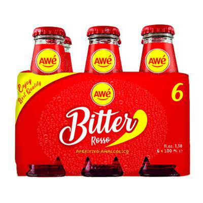 AWE'BITTER ML.100X6 ROSSO