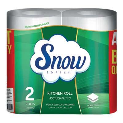 SNOW ASCIUGATUTTO 2V 2 ROTOLIGR.350