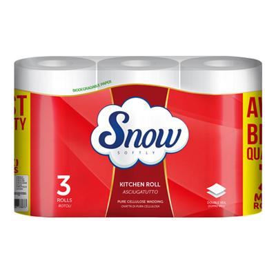 SNOW ASCIUGATUTTO 2V 3 ROTOLIGR.525