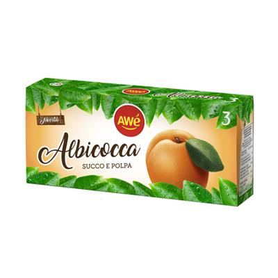 AWE' SUCCO DI FRUTTA ALBICOCCABRICK ML.200X3