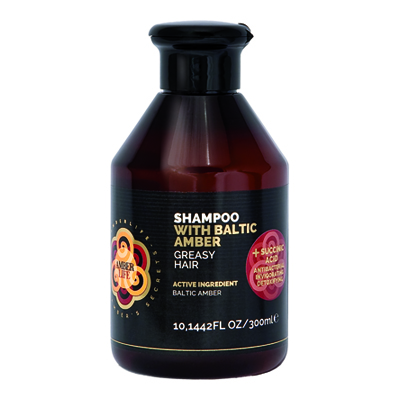 AMBER LIFE SHAMPOO ML.300 GRASY HAIR