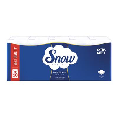 SNOW FAZZOLETTI 3 VELI X10