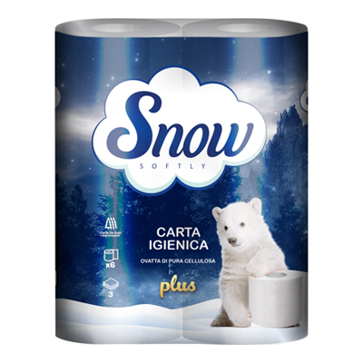 SNOW CARTA IGIENICA 3V X6 PLUSGR950