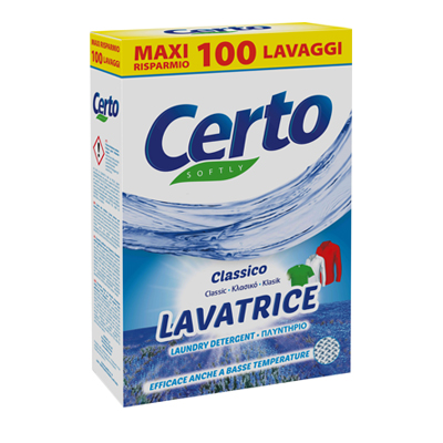 CERTO LAVATRICE FUSTONE CLASSICO 100 MISURINI