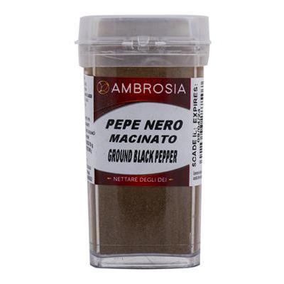 AMBROSIA PEPE NERO MACINATO GR.90 PET