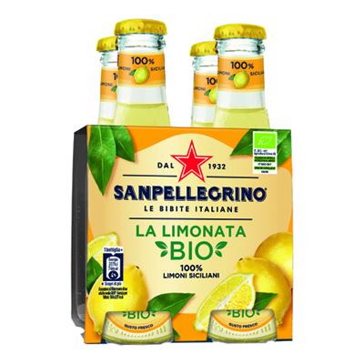 SANPELLEGRINO CL.20X4 LIMONATABIO