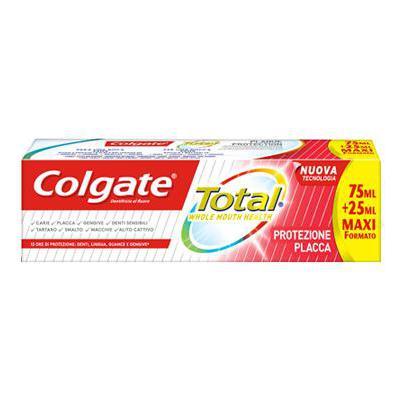 COLGATE DENTIFRIC.TOTAL PROTEZIONE PLACCA ML.75+25