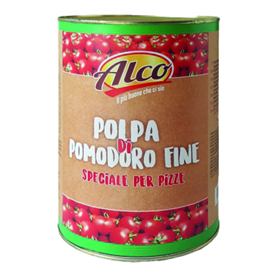 ALCO POLPA DI POMODORO FINE PER PIZZA KG.4.05