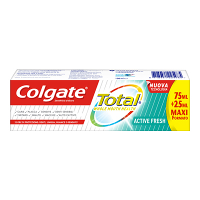 COLGATE DENTIFRICIO TOTAL ACTIVE FRESH ML.75+25