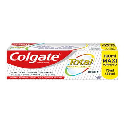 COLGATE DENTIFRICIO TOTAL ORIGINAL ML.75+25