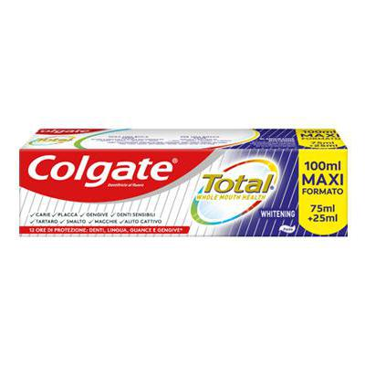 COLGATE DENTIFRICIO TOTAL WHITENING ML.75+25