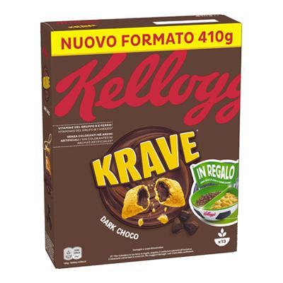KELLOGG'S KRAVE CHOCO MILK GR.410