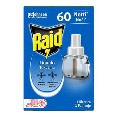 RAID LIQUIDO RICARICA 60 NOTTI