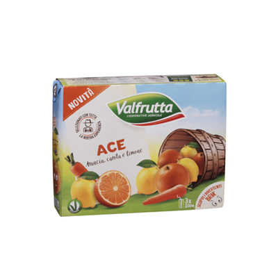 VALFRUTTA ML.200X3 ACE