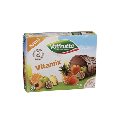 VALFRUTTA ML.200X3 VITAMIX