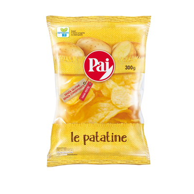 PAI PATATINE CHIPS TRASPARENTIGR.300