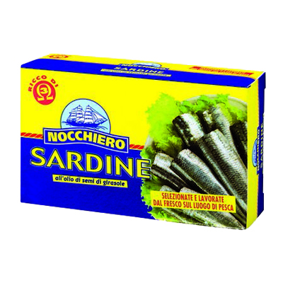 NOCCHIERO SARDINE GR.125 OLIODI GIRASOLE