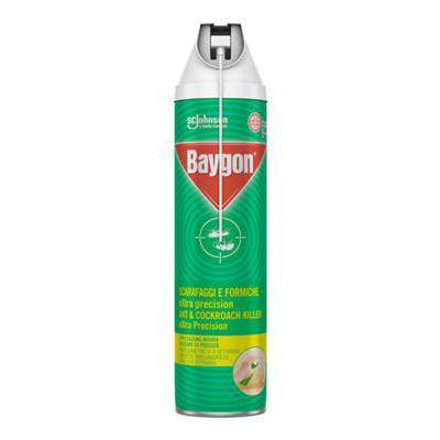 BAYGON SCARAFAGGI/FORMICHE SPRAY ML400 EXTRA PRECICION
