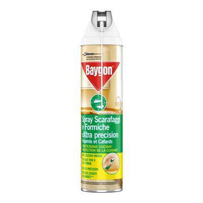 BAYGON SCARAFAGGI/FORMICHE SPRAY ML400 EXTRA PRECISION KD