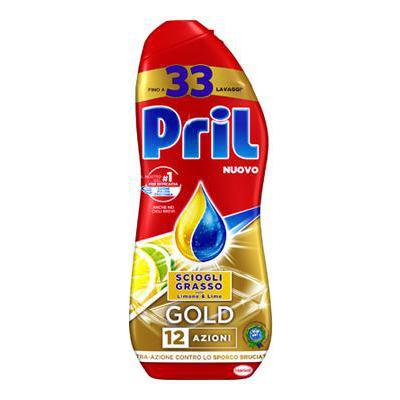 PRIL GEL GOLD ML.600 LIMONE