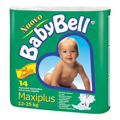 BABY BELLMAXI14/16 PZ 15-25 KGTOP QUALITY