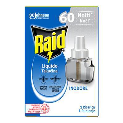 RAID LIQUIDO RICARICA 60 NOTTIINODORE